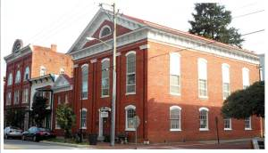 War Memorial Building - Historic Shepherdstown Commission